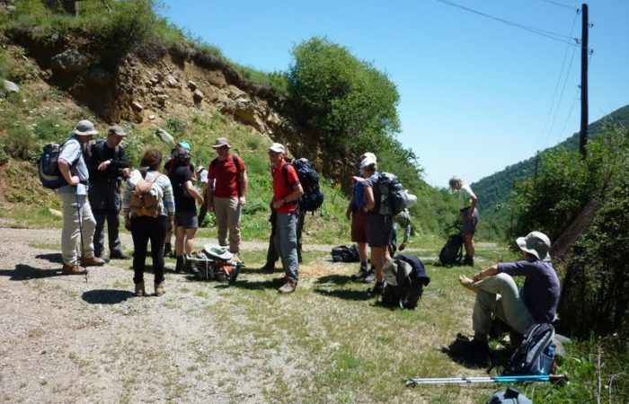 Tour in Armenia on foot